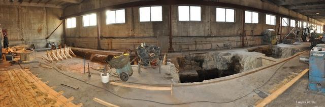 Кабельний завод Енергопром - будівництво першого цеху